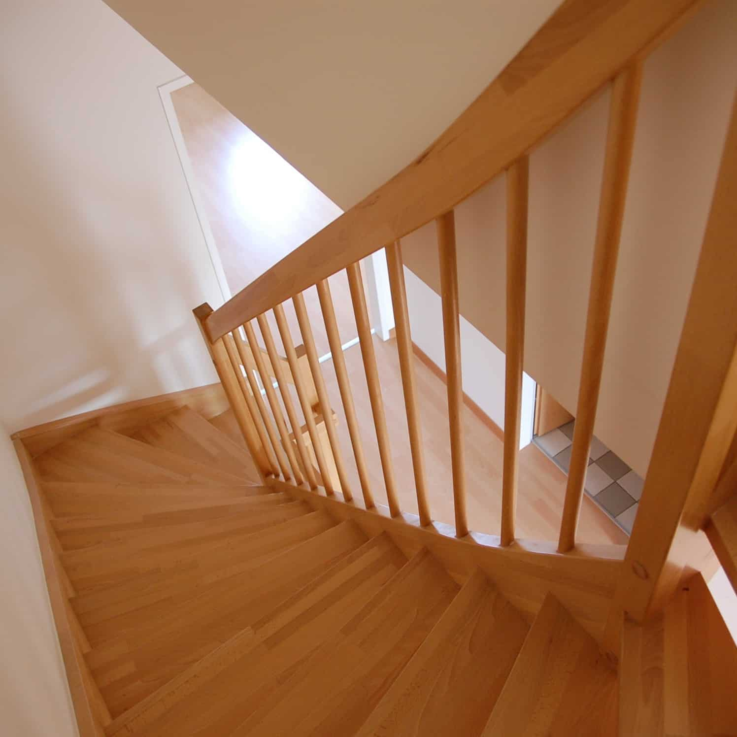 Refinish Wood Handrails & Stairways